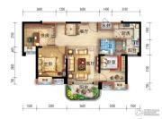 宜昌碧桂园3室2厅1卫97平方米户型图
