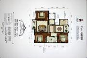香槟小镇3室2厅2卫124--131平方米户型图