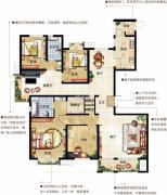 茂华国际汇4室3厅2卫0平方米户型图