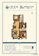 中远泷玺�_3室2厅1卫103平方米户型图