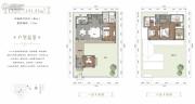 峨眉山桃李春风中式宅院4室2厅4卫191平方米户型图