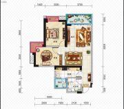 久安新坐标2室2厅1卫86平方米户型图