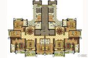 雅居乐滨江国际5室2厅3卫230平方米户型图