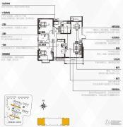 银隆开元名郡3室2厅2卫142平方米户型图