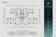 清华园0室0厅0卫105--173平方米户型图