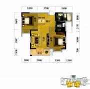 奥山世纪城2室2厅1卫85平方米户型图