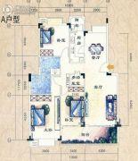 时代星城4室2厅2卫131平方米户型图
