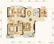 钓鱼台二期4室2厅2卫137平方米户型图