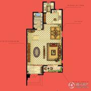 水静界3室2厅3卫205平方米户型图
