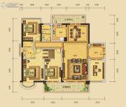 华晟豪庭三期4室2厅2卫173平方米户型图