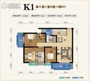 俊发盛唐城4室2厅2卫135--146平方米户型图