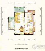 德昌盛景2室2厅1卫73平方米户型图