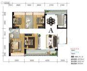 宝丰新城4室2厅2卫120平方米户型图