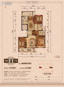 丽江半岛4室2厅2卫143--165平方米户型图