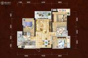 四川煤田光华之心3室2厅2卫114平方米户型图