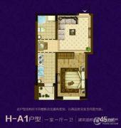 澳海澜苑1室1厅1卫45--145平方米户型图