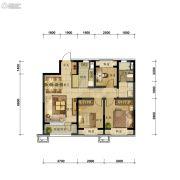 万科圣丰・翡翠之光3室2厅1卫93平方米户型图