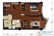华远九都汇3室2厅1卫133平方米户型图