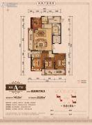丽江半岛4室2厅2卫143--169平方米户型图