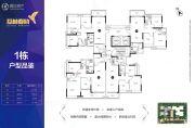 荔林春晓3室2厅2卫0平方米户型图