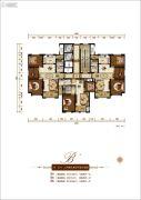香榭里3室2厅1卫133--137平方米户型图