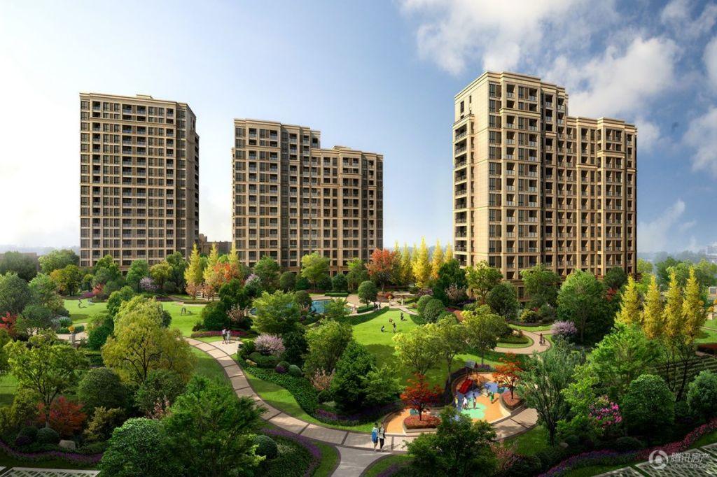 紫元尚郡-中心景观