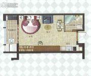 中融中央公馆1室1厅1卫36--46平方米户型图