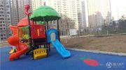 义乌城实景图