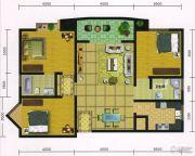 郧阳国际园3室2厅2卫112--113平方米户型图