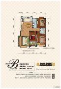 凌宇犀地3室2厅2卫151平方米户型图