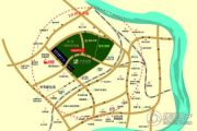 绿地卢浮公馆交通图