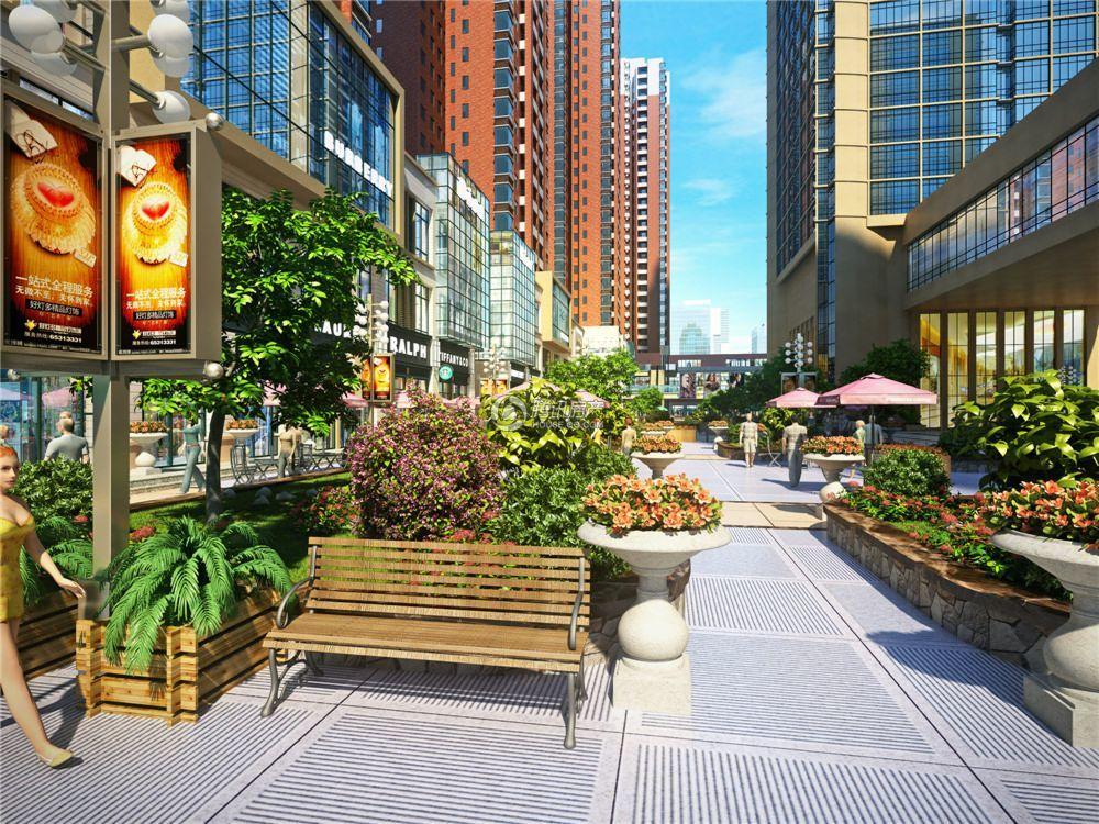 鹰城国际香港城效果图
