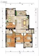 四季园4室2厅2卫0平方米户型图
