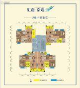 汇嘉・南湾3室2厅2卫92--102平方米户型图