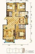 锦麟3室2厅2卫143平方米户型图