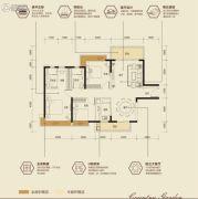 碧桂园・首座3室2厅2卫0平方米户型图