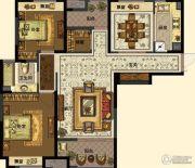 中交・南山美庐2室2厅1卫112平方米户型图