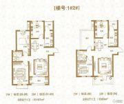 棠悦3室2厅1卫107平方米户型图