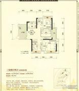 公园1号3室2厅2卫139平方米户型图