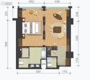 樱花谷1室1厅2卫0平方米户型图