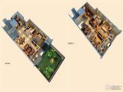 创源无想墅4室2厅3卫191平方米户型图
