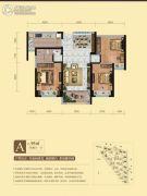 碧桂园・凤凰城3室2厅1卫95平方米户型图