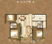 禹州御湖湾3室2厅2卫145平方米户型图