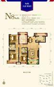 永定河孔雀城英国宫3室2厅2卫118平方米户型图