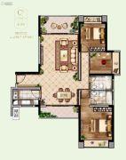 联泰・滨江中心3室2厅2卫134--137平方米户型图