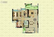 奥园公园一号3室2厅0卫86--90平方米户型图