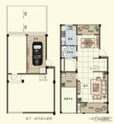 观山名筑3室2厅3卫163--166平方米户型图