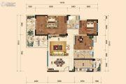 树高威尼斯城3室2厅2卫127平方米户型图