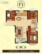 泰和兴龙湾3室2厅2卫0平方米户型图