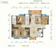 班芙春天4室2厅2卫0平方米户型图